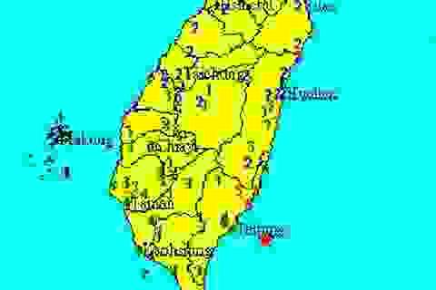 Động đất mạnh ở Đài Loan