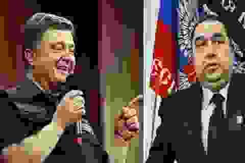 """Lãnh đạo LPR lại """"thách đấu tay bo"""" với Tổng thống Ukraine"""