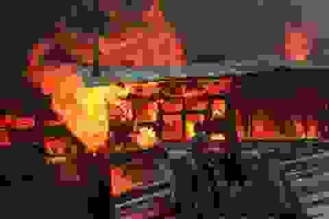 Philippines cháy lớn làm hàng nghìn gia đình mất nhà cửa