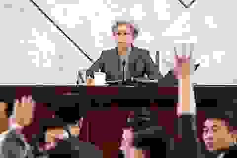 """Quốc hội Trung Quốc bàn về học thuyết """"Bốn toàn diện"""""""