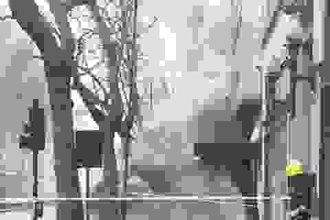 London: Cháy lớn dưới lòng đất, 2.000 người sơ tán