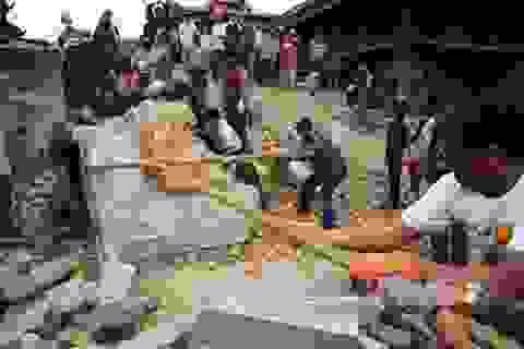 Nepal lại xảy ra động đất ở khu vực miền Trung