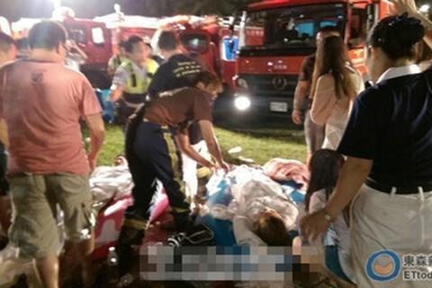Đài Loan: Nổ lớn tại công viên nước, ít nhất 500 người bị thương
