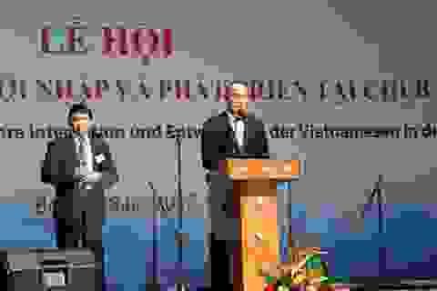 """Lễ hội """"40 năm người Việt Nam hội nhập và phát triển ở Đức"""""""