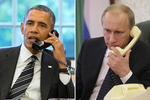 Thỏa thuận Minsk được chú trọng trong cuộc điện đàm Putin - Obama