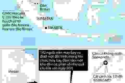 [Infographics] Toàn cảnh vụ tai nạn máy bay quân sự Indonesia