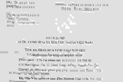 """Công dân """"tố"""" Tòa án tỉnh Thái Nguyên vi phạm nghiêm trọng thủ tục tố tụng"""