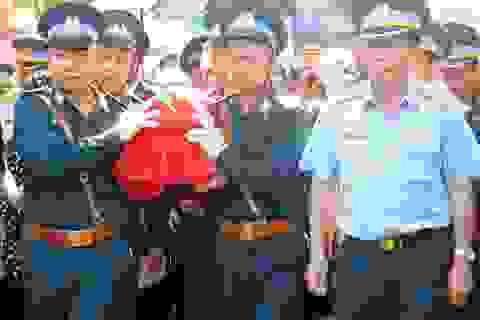 Đưa tiễn liệt sĩ phi công hy sinh trong vụ máy bay Su-22