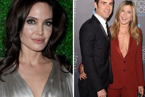 "Angelina Jolie ""đụng mặt"" Jennifer Aniston tại lễ trao giải ở Mỹ"