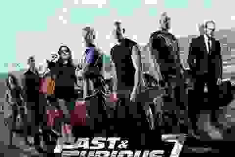 """""""Furious 7"""" đạt doanh thu hơn 1 tỉ đô la Mỹ"""