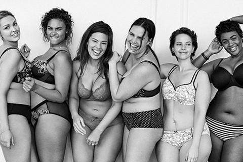 """Hãng nội y dùng người mẫu béo để """"tuyên chiến"""" với Victoria's Secret"""