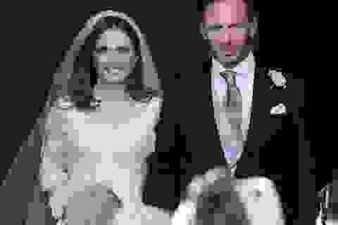Những hình ảnh đẹp trong hôn lễ của thành viên nhóm Spice Girls