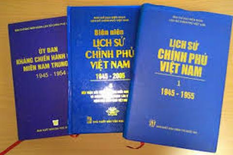 Bộ Nội vụ nhận nhiệm vụ biên soạn Lịch sử Chính phủ Việt Nam