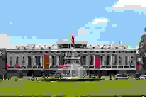 Xây Bia tưởng niệm chiến sỹ Biệt động Sài Gòn tại Dinh Độc Lập