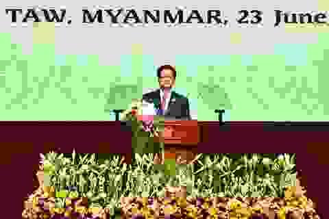 """Thủ tướng: Cam kết hợp tác vì hòa bình trên """"khu vực 3 dòng sông"""""""