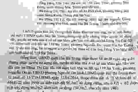 Đề nghị cấp sổ đỏ cho dân, Chủ tịch phường Nguyễn Du phải...nghiêm túc rút kinh nghiệm