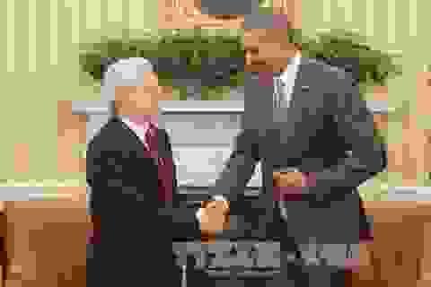 Tổng Bí thư Nguyễn Phú Trọng hội đàm với Tổng thống Barack Obama