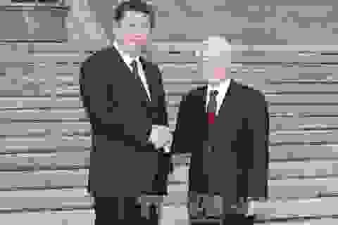 Tổng Bí thư Nguyễn Phú Trọng hội đàm với Tổng Bí thư Trung Quốc Tập Cận Bình