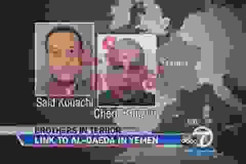 Hai thủ phạm tấn công tòa báo Pháp đều được huấn luyện ở Yemen