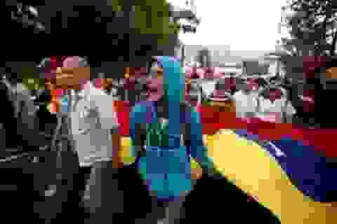 Đối lập ở Venezuela bắt đầu xuống đường biểu tình