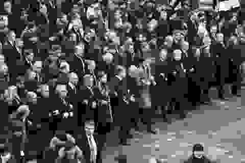 Nhiều lãnh đạo thế giới tuần hành ủng hộ Ukraine