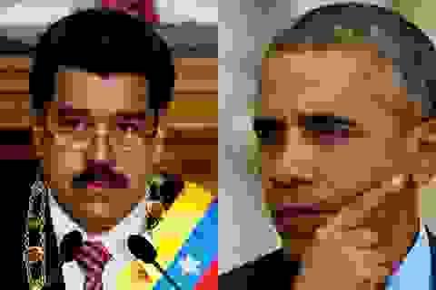 """Quan hệ Mỹ - Venezuela """"dậy sóng"""""""