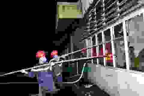 Cháy lớn tại Công ty sân gôn VinaCapital Đà Nẵng