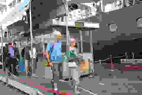 Khách quốc tế du lịch tàu biển giảm là cái chắc