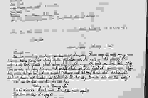 """Đọc """"bức thư"""" đoạt giải Nhất cuộc thi viết về huyện đảo Hoàng Sa"""