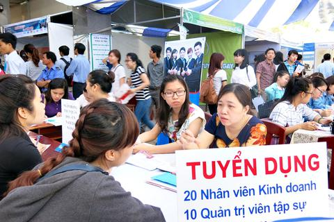 Hơn 1.600 vị trí tuyển dụng tại Ngày hội việc làm 2015