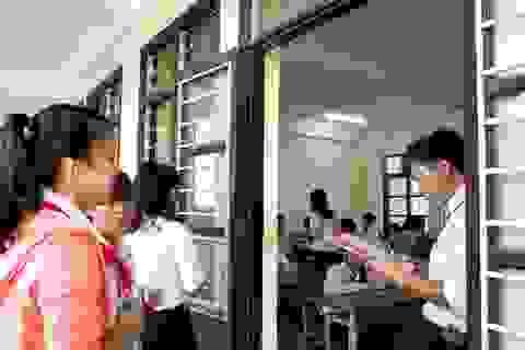 Hôm nay, nhiều địa phương tổ chức thi vào lớp 10