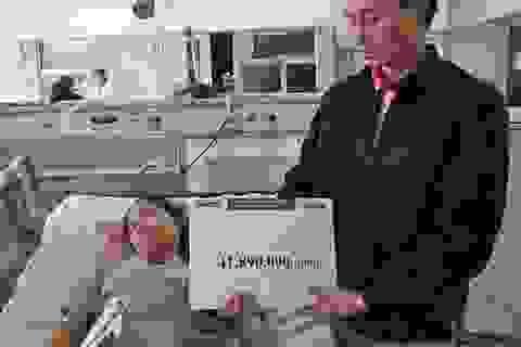 Gần 42 triệu đồng đến với người phụ nữ bị u tuyến ức