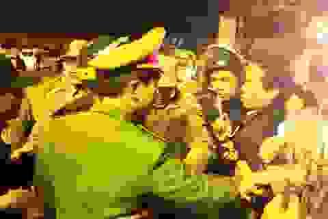 Huy động hơn 2.000 người đảm bảo trật tự đêm Khai ấn