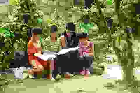 Bấp bênh sự học ở thôn nghèo nhất huyện Tĩnh Gia