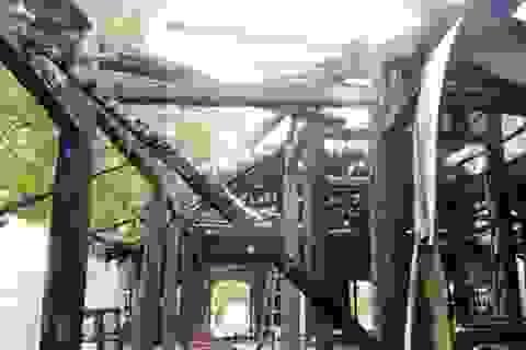 Cháy chùa trên 300 năm tuổi, nhiều cổ vật bị thiêu rụi