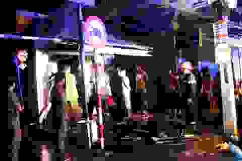 Chốt dân phòng cháy rụi trong đêm