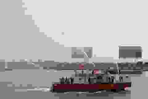 Ngắm tàu chữa cháy trên sông hiện đại nhất Việt Nam