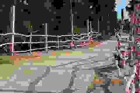 Rào chắn, dựng barie tại cây cầu nữ sinh bị cuốn trôi