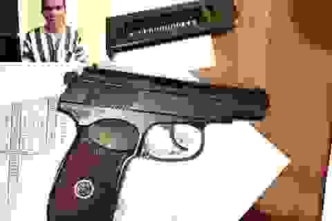 """Triệt phá băng giang hồ thủ súng đạn, hoạt động kiểu """"xã hội đen"""""""