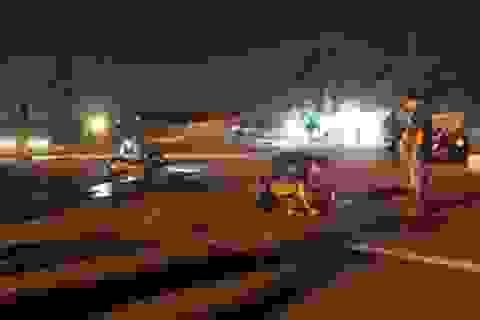 Truy đuổi xe tải nghi gây tai nạn chết người rồi bỏ chạy