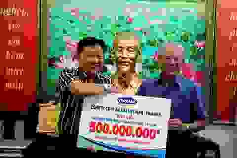 Vinamilk ủng hộ 500 triệu đồng cho trẻ em mổ tim