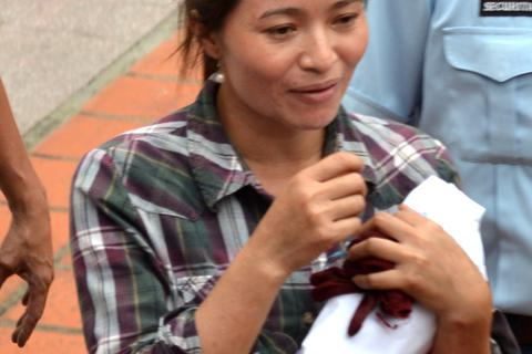 Chị Hồng nhờ chuyển hơn 100 tờ yên rách sang Nhật để đổi