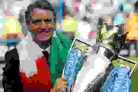 Mancini khẳng định Man City xứng đáng vô địch Premier League