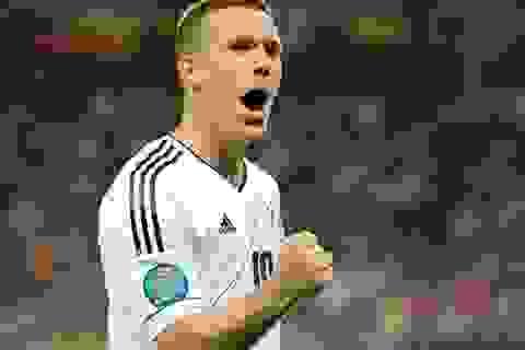 Những khoảnh khắc hoàn tất chiến thắng thứ 3 của Đức
