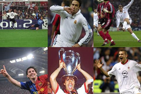 Những huyền thoại vĩ đại nhất 20 năm lịch sử Champions League (P2)