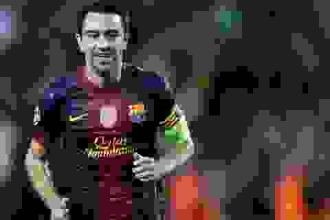 Sự nghiệp Xavi trong màu áo Barcelona qua clip đặc sắc