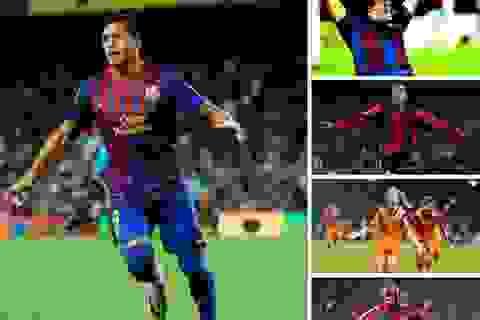 Những siêu phẩm lốp bóng của các sao Barcelona