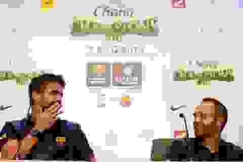 Barcelona quyết trói chân hai công thần Iniesta và Pique