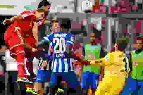 Bayern Munich chật vật đánh bại Hertha Berlin