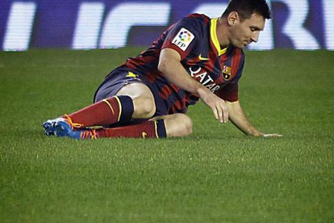 Năm 2013: Điểm tối trong sự nghiệp của Messi